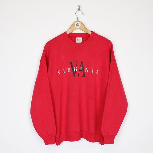 Vintage USA Sweatshirt Large