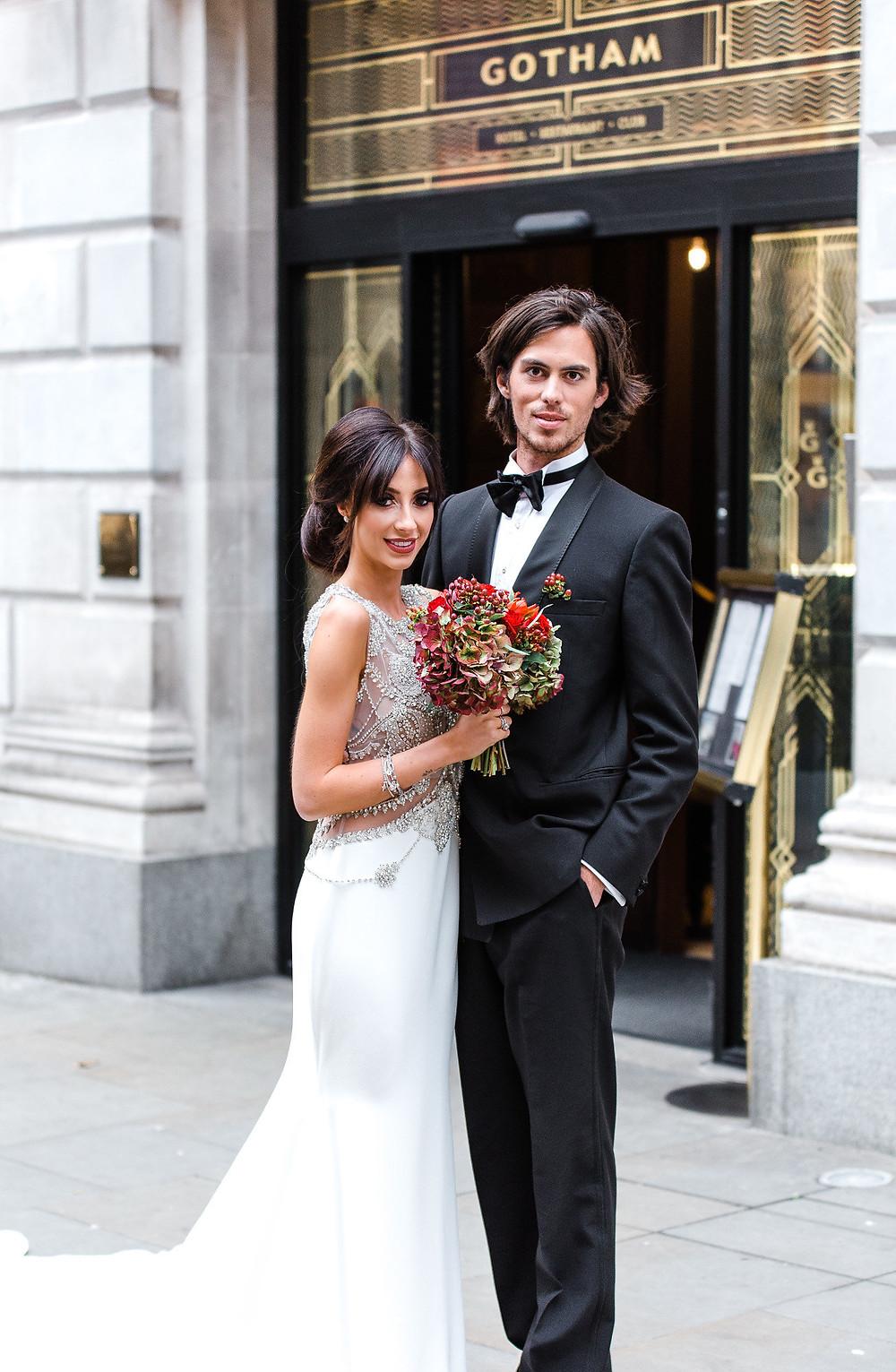 hotel Gotham manchester makeup artist hairstylist wedding bridal groom