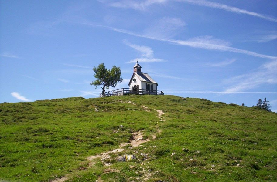 A small chapel in the Austrian countryside, not far from Salzburg