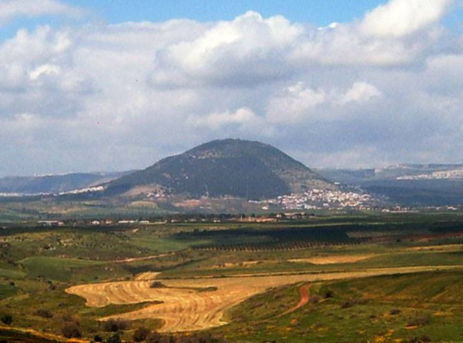 Mount Tabor in the Holy Land