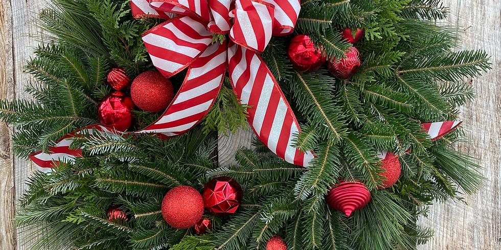 Wreath Kit #2 'Santa's Suit'
