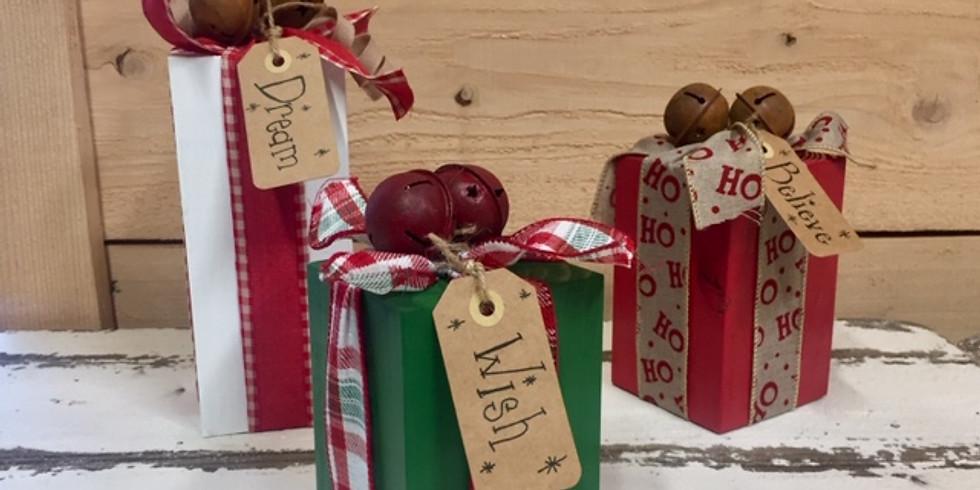 Wooden Christmas Block Workshop