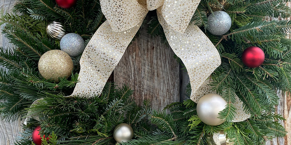 Wreath Kit #3 'Silver and Gold'