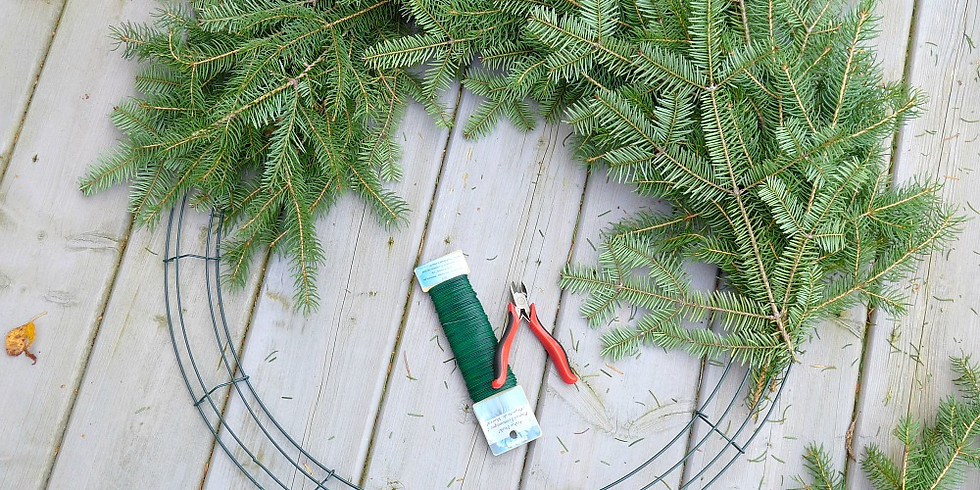 DIY Evergreen Wreath Workshop