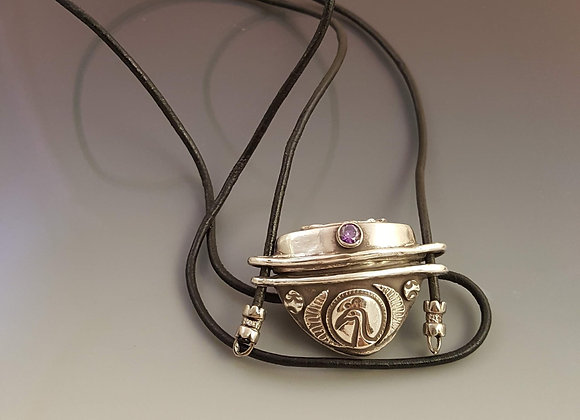 Inro Box Inspired Pendant