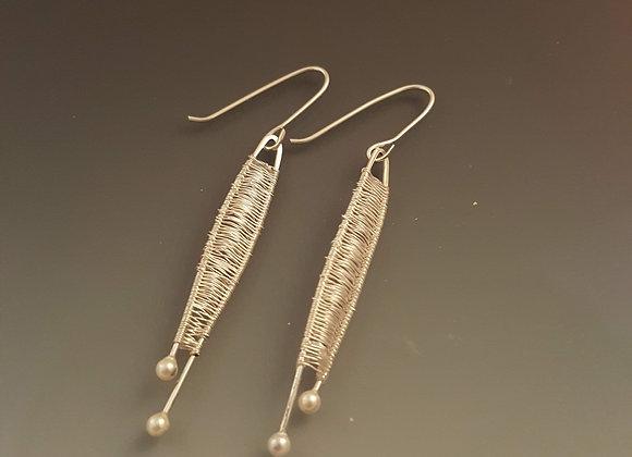 Hand Crafted metal earings