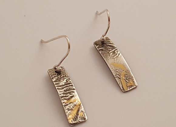 A Touch of Gold Earrings