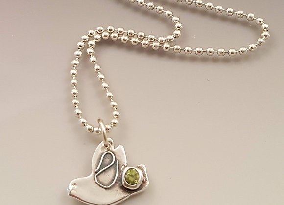 Peace Dove Anklet