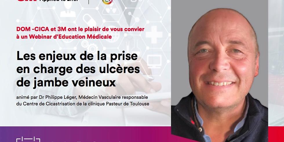 LES ENJEUX DE LA PRISE EN CHARGE DES ULCÈRES DE JAMBE VEINEUX