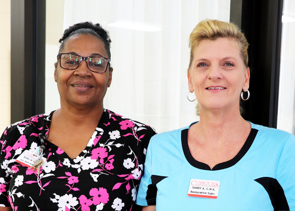 Susie Wilford & Sandy Allen