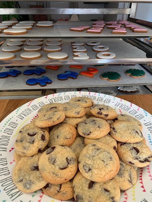 Lot de 10 cookies aux pépites de chocolat