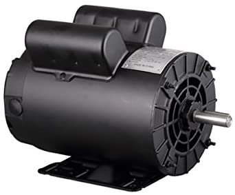 POWER TECH 5 HP SINGLE PHASE 3450 RPM 56 FRAME AIR COMPRESSOR MOTOR
