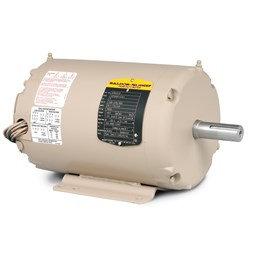 BALDOR 3 HP 3PH 3450 RPM 145T FRAME