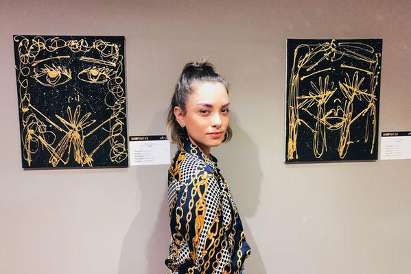 Paola Miss frais art exhibit The Charlee