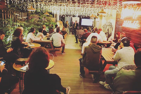 miss frais conference at blockchain cent