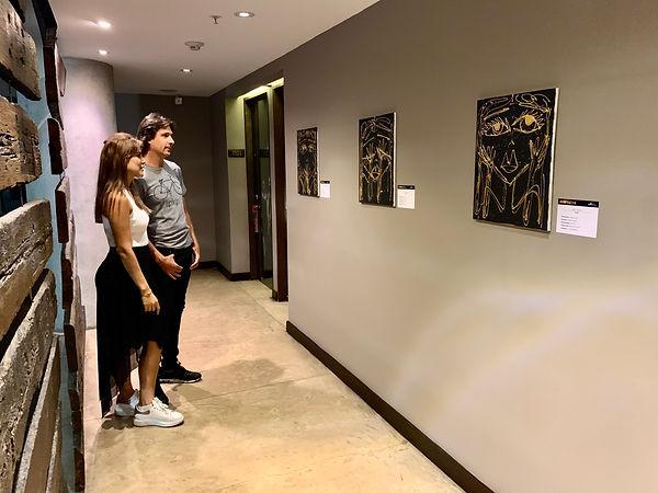 Miss frais art exhibit The Charlee hotel