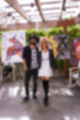 miss frais art exhibit 2018 nikki beach.