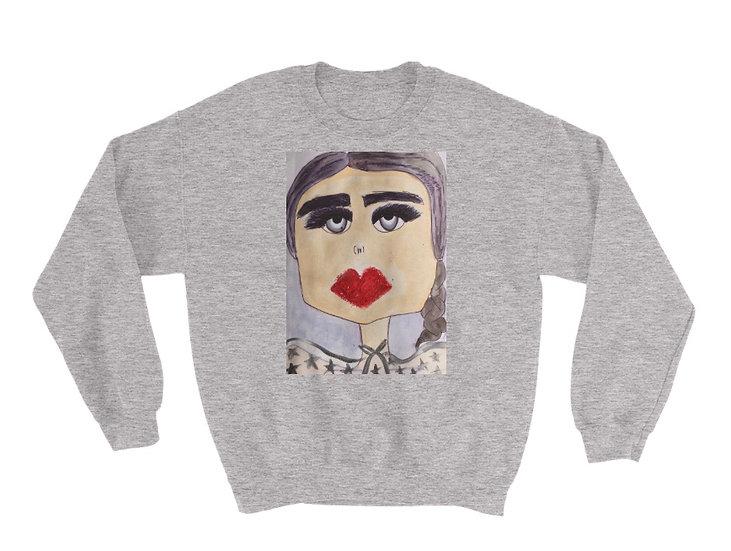 MissFrais Rose unisex sweatshirt