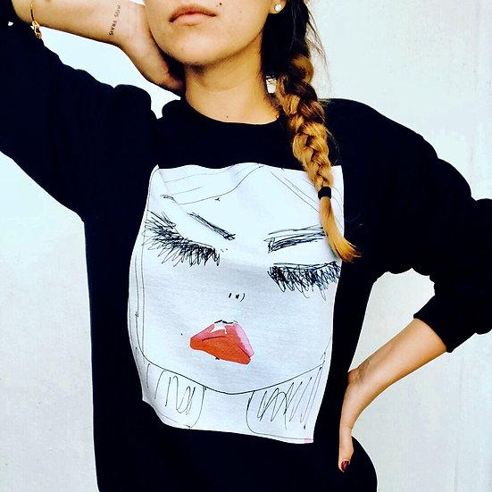 Miss Frais Rita unisex sweatshirt