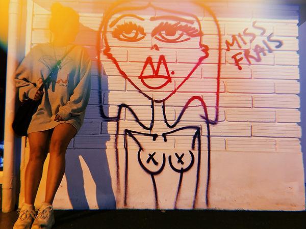 MISS FRAIS art exhibit frozen colors med