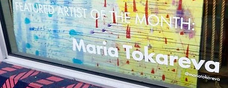 Maria Tokareva Wynwood artist of the month