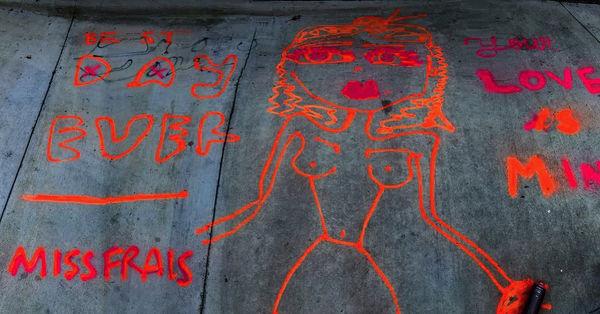miss frais grafitti art show wynwood 201