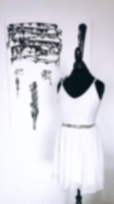 miss frais melting music dress one of a