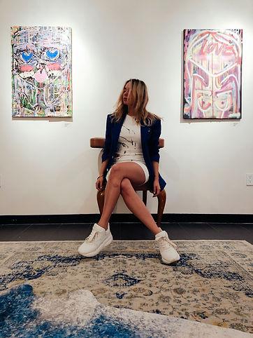 Miss Frais BLOOMING CLOUDS ART EXHIBIT.JPG