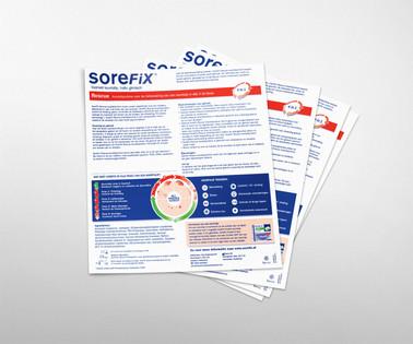 Sorefix leaflet