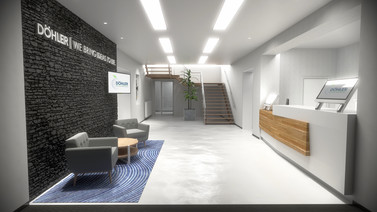 Visualisation of a reception