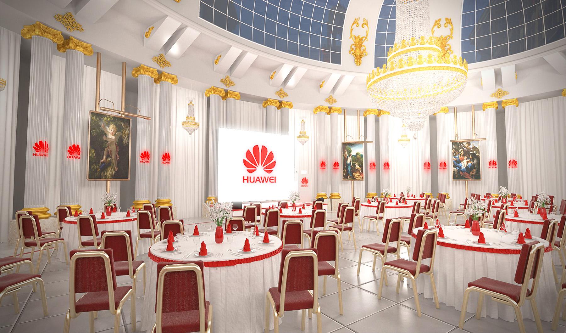 3D-Visualization-Huawei-Venice-Palace