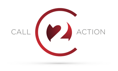 Call 2 Action logo design