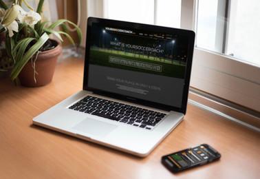Yoursoccercompany website design