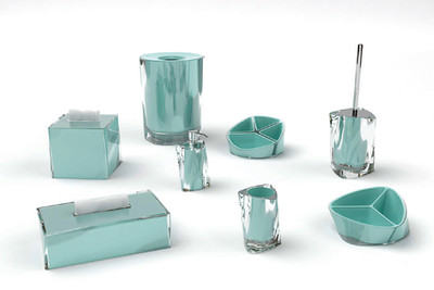 Bathoom accessories resin
