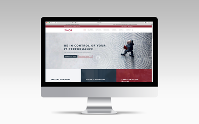 Ymor IT website