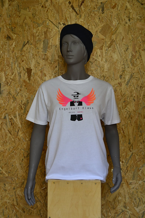 "Tresenmann T-Shirt ""Engelbart Klaus"" (white)"
