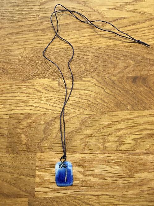 Halskette Marineblaue (by Lisa Stahl)