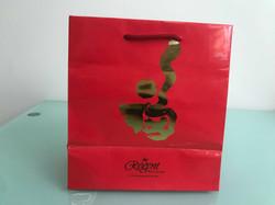CNY Orange Bags