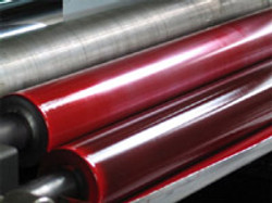 Machine roller with Magenta Col