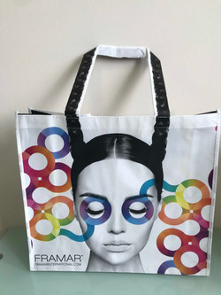 Woven bags with lamination image