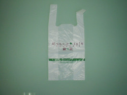 T-Shirt Bag-White HDPE