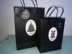 X'mas Carrier bags