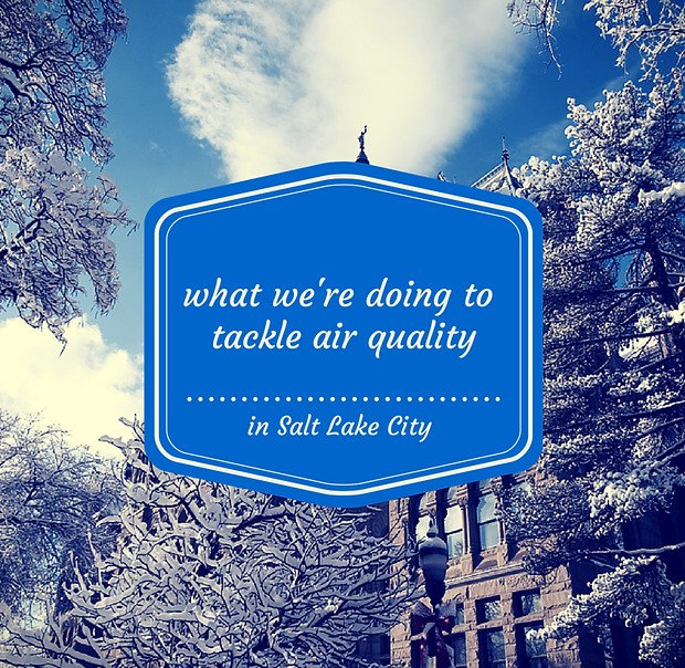 What SLC is doing to tackle air quality