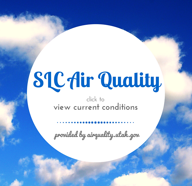 Link to current air quality conditions in Utah