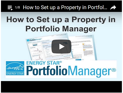 Portfolio Manger Energy Star video link
