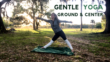 Grounding Yoga Flow {short 6 minute practice: settle nervous energy}