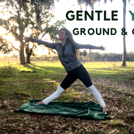 Grounding Yoga Flow {short 6 minute practice: settle nervous energy}