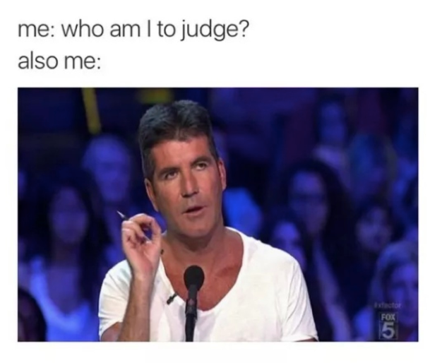 Simon Cowell Judge Meme