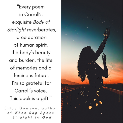 Every poem in Carroll's exquisite Body o