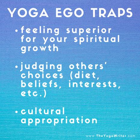 Yoga Ego Traps {Part 2}
